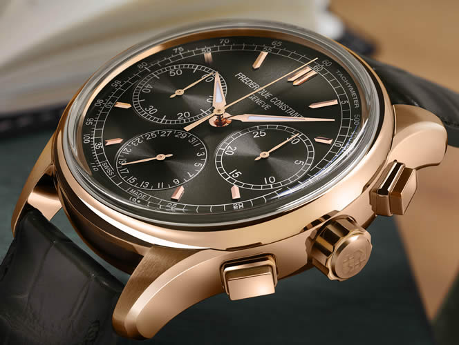 First Flyback Chronograph Manufacture
