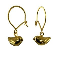 Tiny Gold Sparrow Hook ER