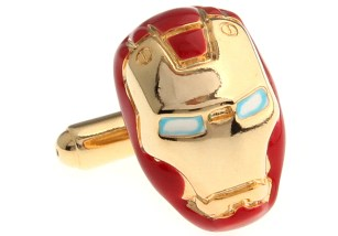 Iron-Man-Cufflink-2-Pairs-Free-Shipping-Crazy-Promotion-