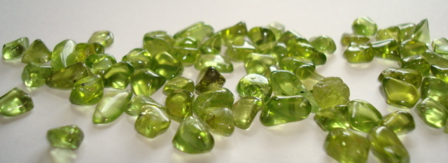 Sources of Extraterrestrial Peridot