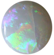 crazed white opal