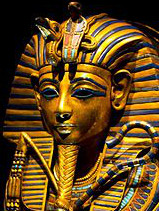 Tutankhamun canoptic coffinette history of earrings