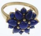treated lapis lazuli