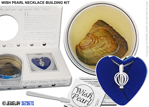 WISH PEARL NECKLACE KIT Jewelry Secrets