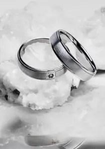 Anéis de prata