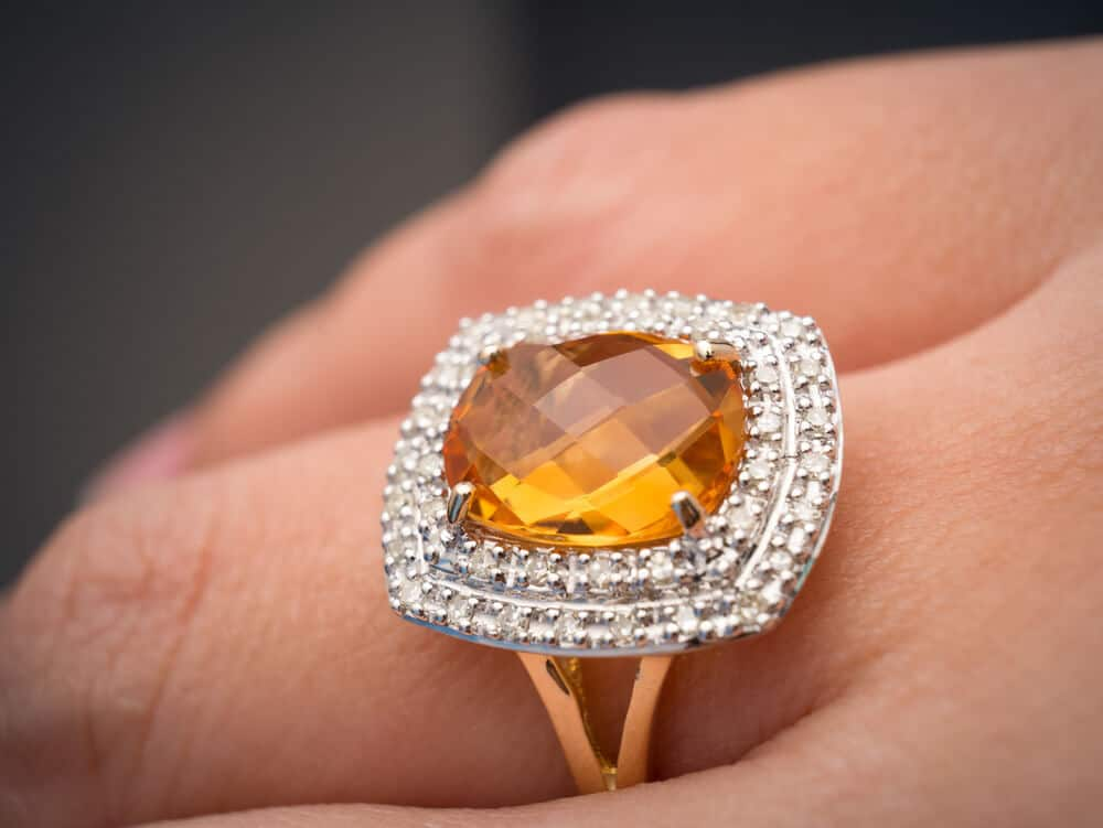duquet gemstone rings christopher citrine designer fine by ring jewelry yellow portfolio gold