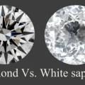 Diamond vs white sapphire