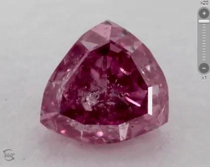 Pink diamond clarity