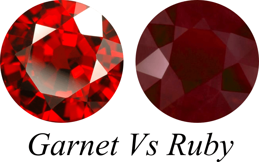 Red Garnet Vs Ruby Gemstone Jewelry Guide