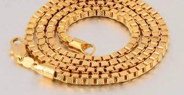 Glold box chain