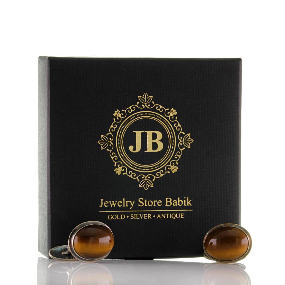 Manschettenkn/öpfe Vintage Ovale Eingelegte Perle Herren Manschettenknopf Silber Geschenk f/ür M/änner Jahrestag