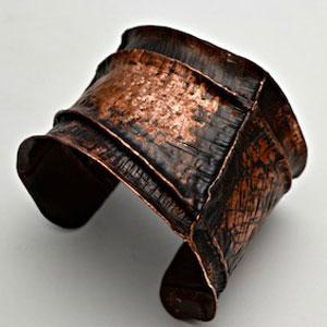 Form Folded Copper Cuff Jewelry Tools Jewelry Making Tools
