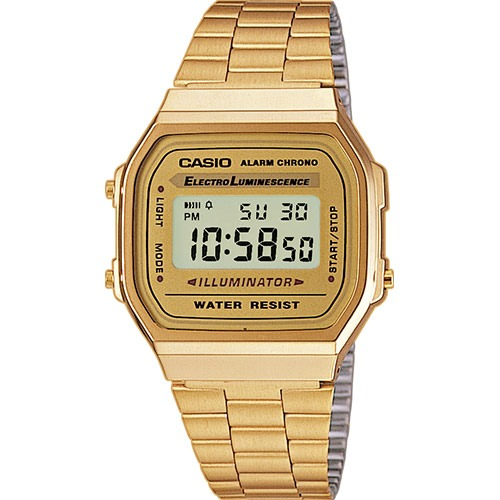 CASIO COLLECTION A168WG-9...