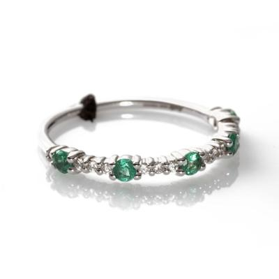 anello smeraldo