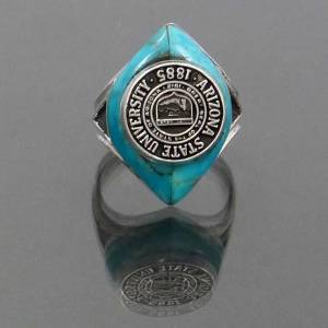Arizona State Turquoise Class Ring