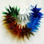 Lampwork beads by Jyothi
