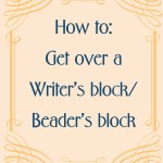 Getting over a writer's block