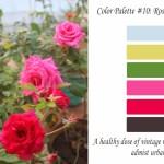 Free color Palette – Rose Garden
