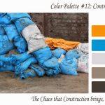 Color palette – Construction chaos