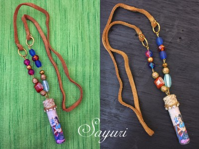 Ragamala Upcycled Bottle Necklaces