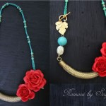 Romani II Cord and Metal jewelry