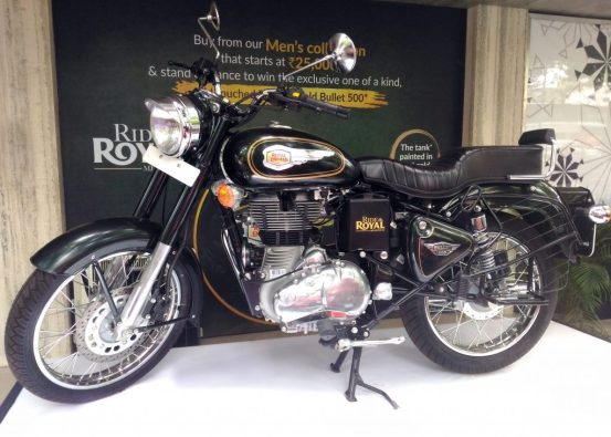 Enfield ride the royal