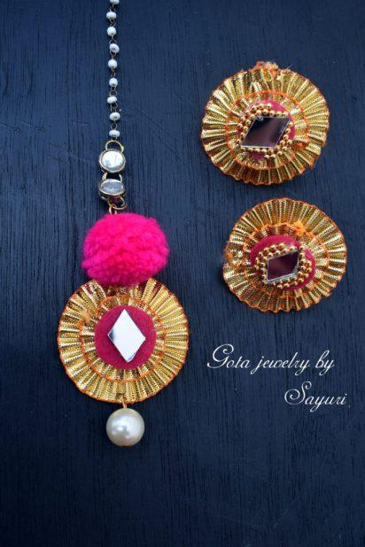 gota jewelry for weddings by Sayuri