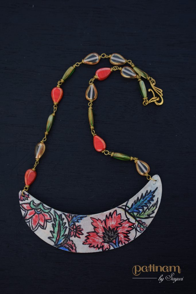 chintz necklace