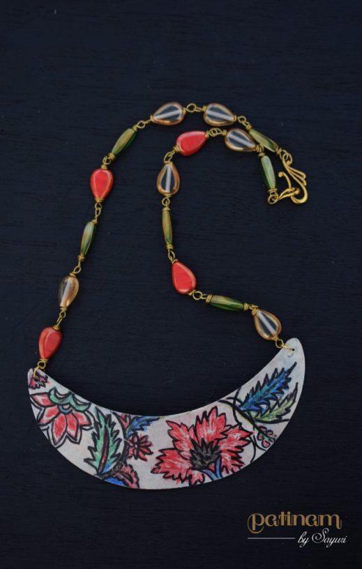 chintz necklace