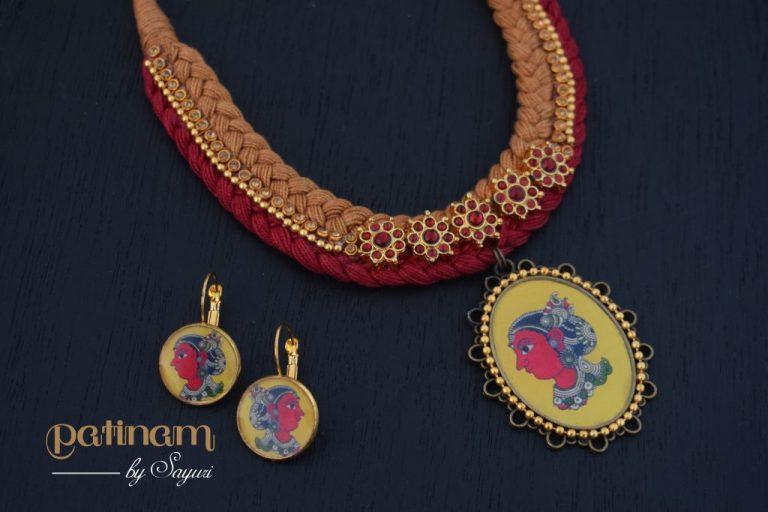 kalamkari jewellery