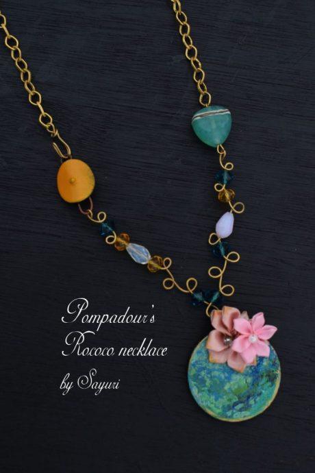 Rococo wire jewelry by Sayuri