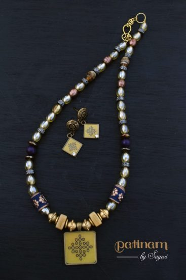 Kolam Jewelry by Sayuri - Divya N