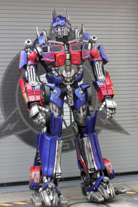 optimus prime universal