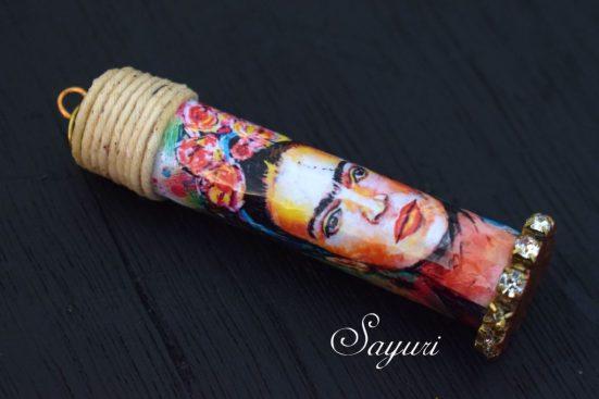 Frida Bottle Pendant