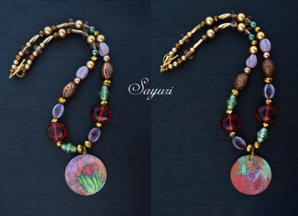 tulip necklace