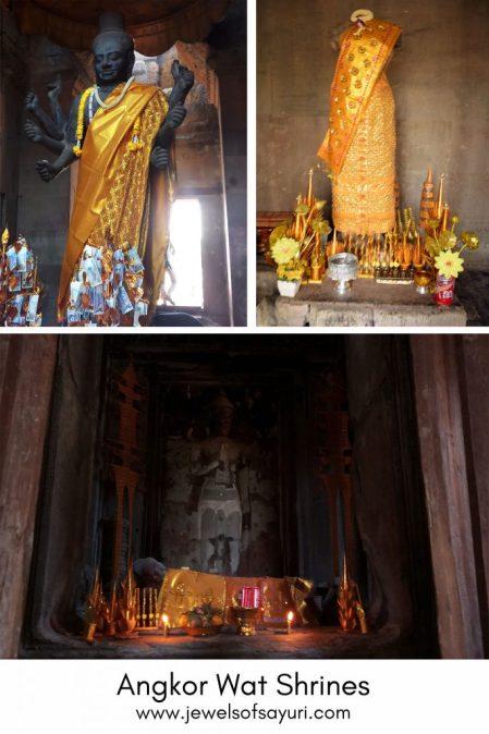 Angkor Wat shrine