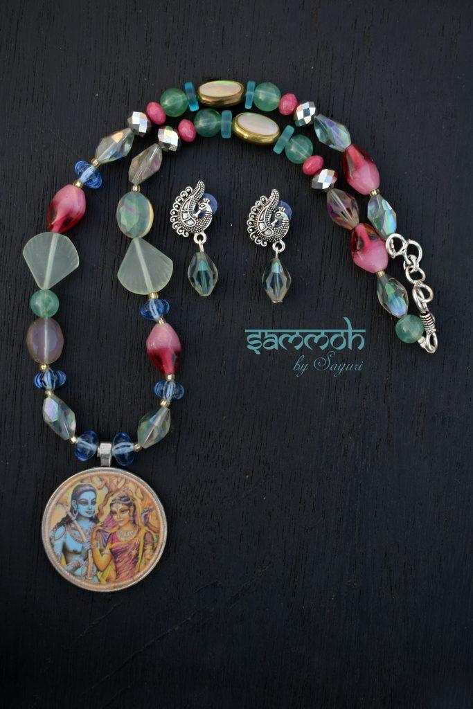 ram sita blues necklace