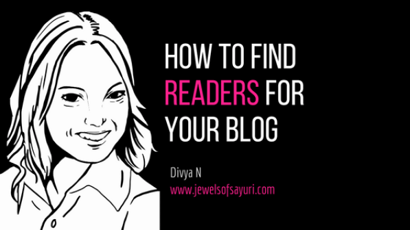 How to find readers for your blog by Sayuri