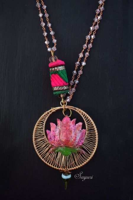 Nymphaea Necklace by Sayuri