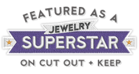 Featured as a Jewelry Superstar on Cut Out + Keep