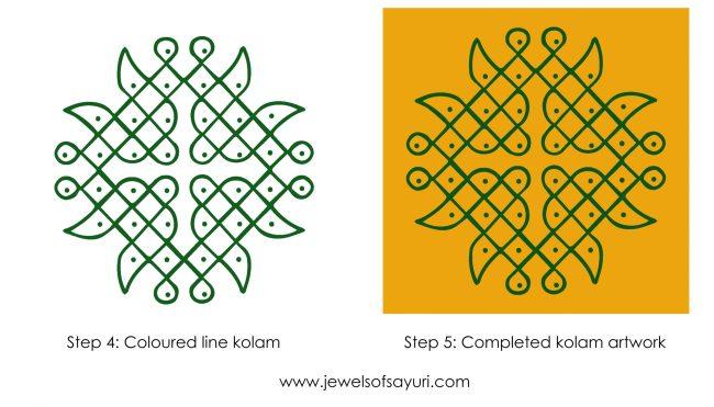 How I make my kolam jewellery-01