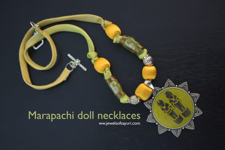 Marapachi doll necklaces