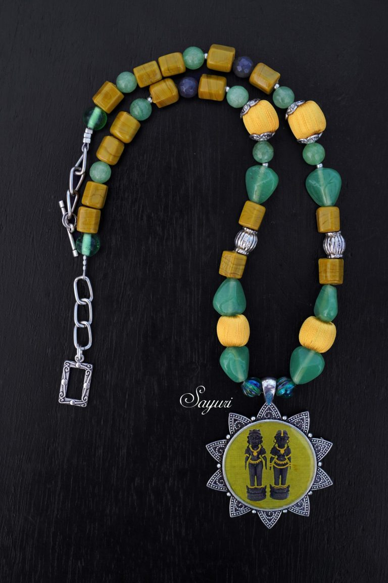 green marapachi necklace