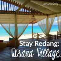 Stay Redang: Wisana Village