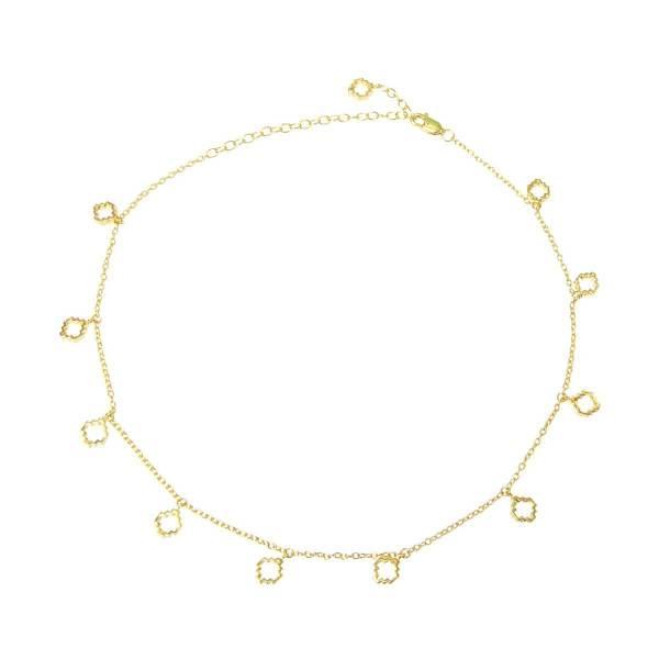 Baori Choker - 18ct Gold Vermeil