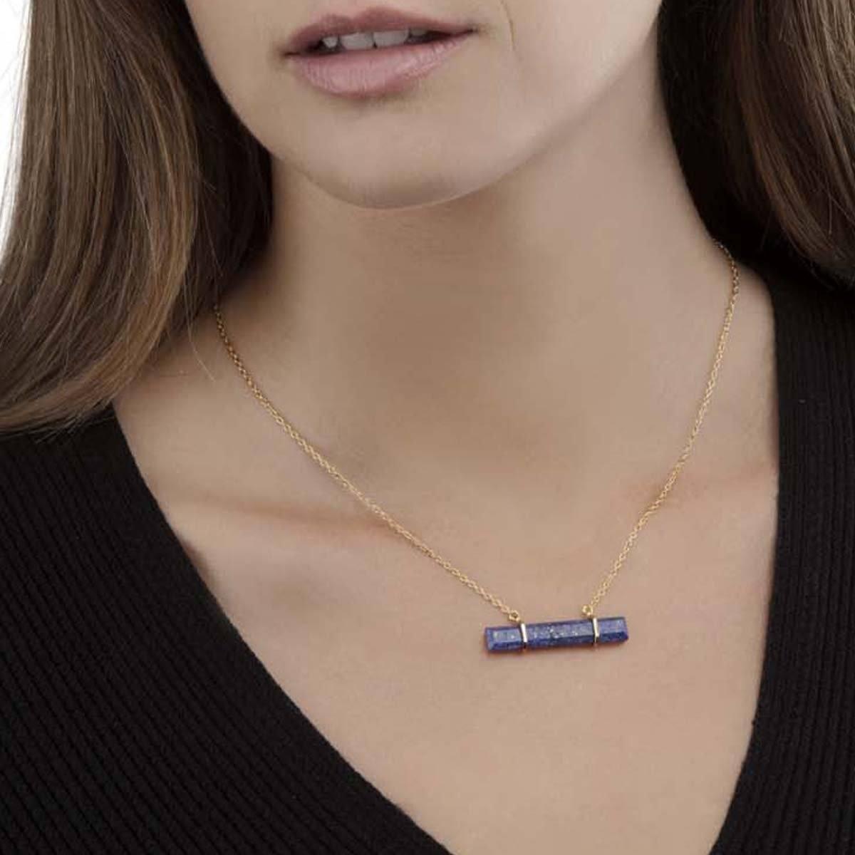 Urban Bar Necklace Lapis Lazuli