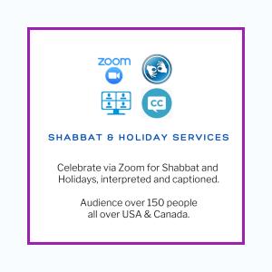 Shabbat & Holiday Services