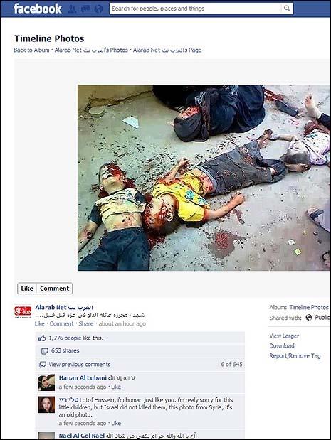 """El """"reciclado"""" masacre, trasplantado a Gaza."""