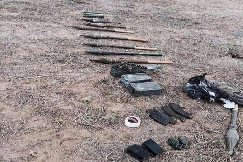 More weapons captured from the Sufa tunnel attack. Photo via: Eli_Scooper / Rotter.net