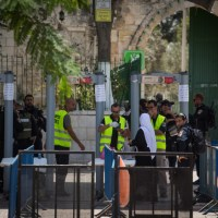 US Proposal to Remove Temple Mount Metal Detectors Being Considered